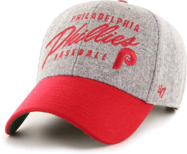 '47 Men's Philadelphia Phillies Gray Fenmore MVP Adjustable Hat product image