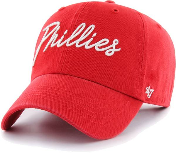'47 Women's Philadelphia Phillies Red Lyric Clean Up Adjustable Hat product image
