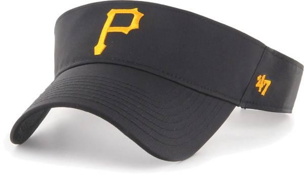 '47 Men's Pittsburgh Pirates Black Eliot Adjustable Visor product image