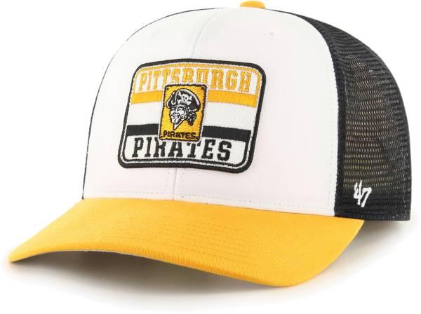 '47 Men's Pittsburgh Pirates Black Evoke MVP Adjustable Hat product image