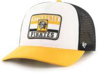 47 Authentic Pittsburgh Pirates Black /& White Logo Logo MVP Black