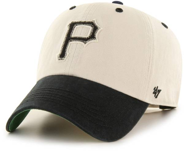 '47 Men's Pittsburgh Pirates Bone Prewett Clean Up Adjustable Hat product image