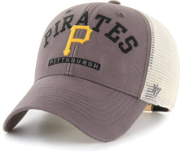 '47 Men's Pittsburgh Pirates Gray Brayman Snap MVP Adjustable Hat product image