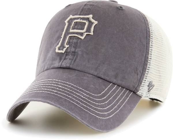 '47 Men's Pittsburgh Pirates Gray Hudson Mesh Clean Up Adjustable Hat product image