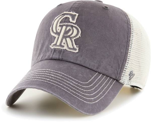 '47 Men's Colorado Rockies Gray Hudson Mesh Clean Up Adjustable Hat product image