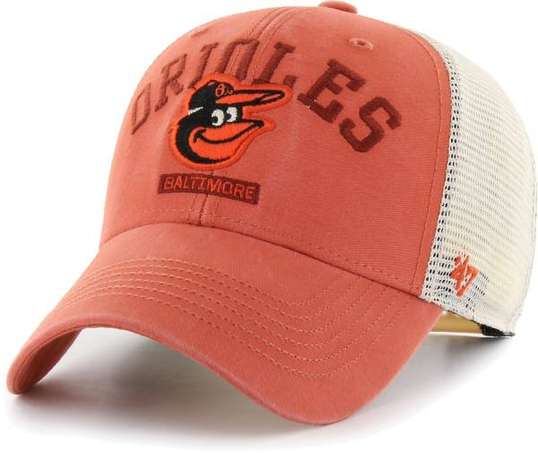 '47 Men's Baltimore Orioles Orange Brayman Snap MVP Adjustable Hat product image