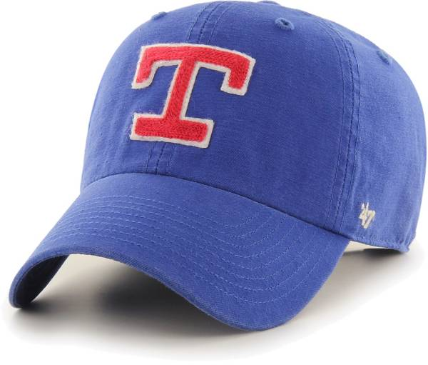 '47 Men's Texas Rangers Royal Mclean Clean Up Adjustable Hat product image