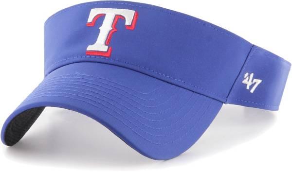 '47 Men's Texas Rangers Royal Eliot Adjustable Visor product image