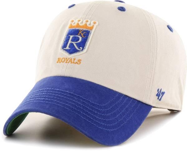 '47 Men's Kansas City Royals Bone Prewett Clean Up Adjustable Hat product image