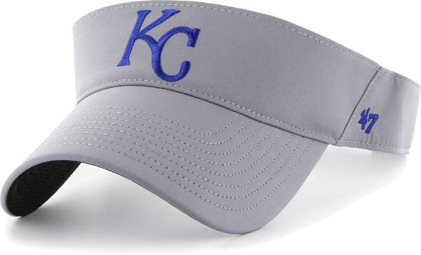 '47 Men's Kansas City Royals Gray Eliot Adjustable Visor product image