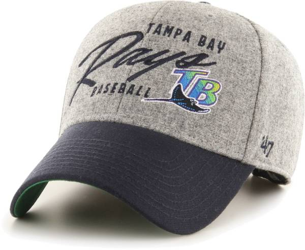 '47 Men's Tampa Bay Rays Gray Fenmore MVP Adjustable Hat product image