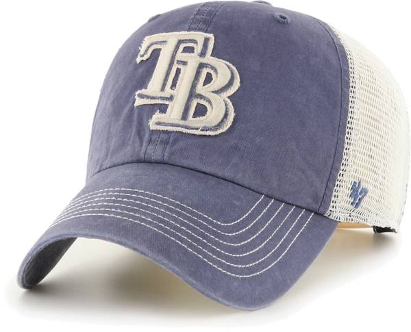 '47 Men's Tampa Bay Rays Navy Hudson Mesh Clean Up Adjustable Hat product image