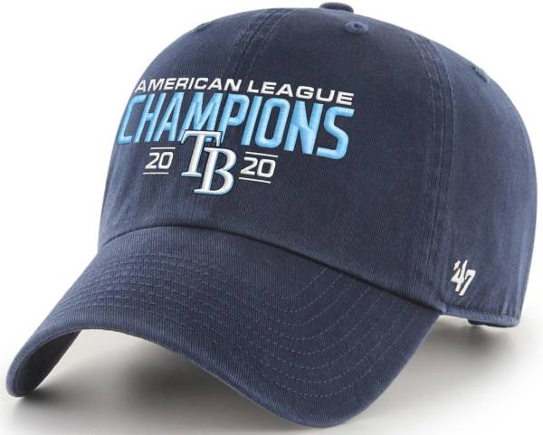 '47 Men's 2020 American League Champions Tampa Bay Rays Clean Up Adjustable Hat product image