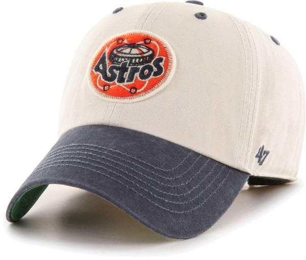 '47 Men's Houston Astros Bone Prewett Clean Up Adjustable Hat product image