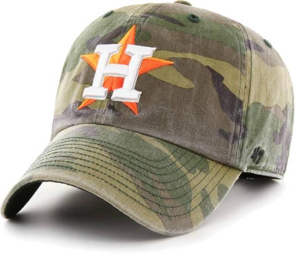 '47 Men's Houston Astros Camo Clean Up Adjustable Hat product image