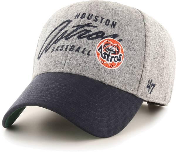 '47 Men's Houston Astros Gray Fenmore MVP Adjustable Hat product image