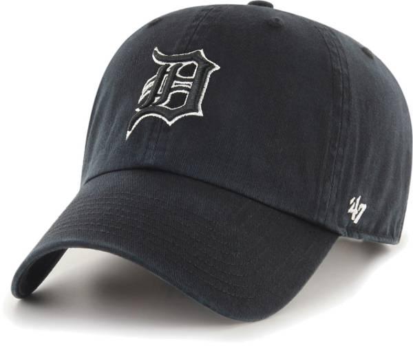 '47 Men's Detroit Tigers Black Clean Up Adjustable Hat product image