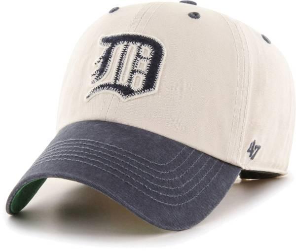 '47 Men's Detroit Tigers Bone Prewett Clean Up Adjustable Hat product image