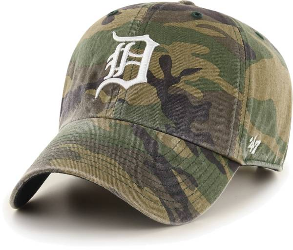 '47 Men's Detroit Tigers Camo Clean Up Adjustable Hat product image