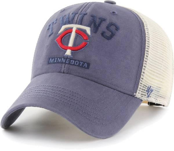 '47 Men's Minnesota Twins Navy Brayman Snap MVP Adjustable Hat product image