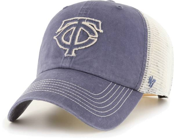'47 Men's Minnesota Twins Navy Hudson Mesh Clean Up Adjustable Hat product image