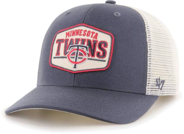 '47 Men's Minnesota Twins Navy Sumay MVP Adjustable Hat product image