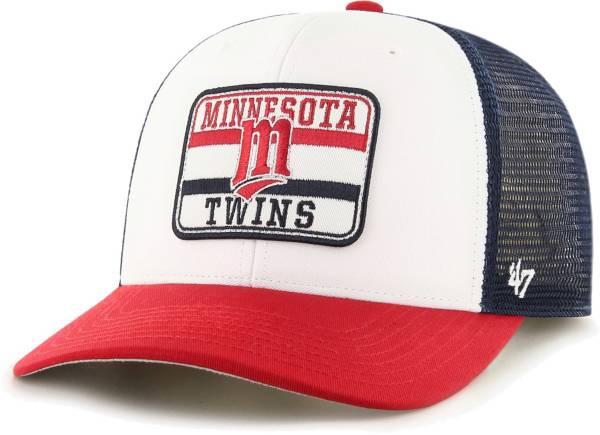 '47 Men's Minnesota Twins Navy Evoke MVP Adjustable Hat product image