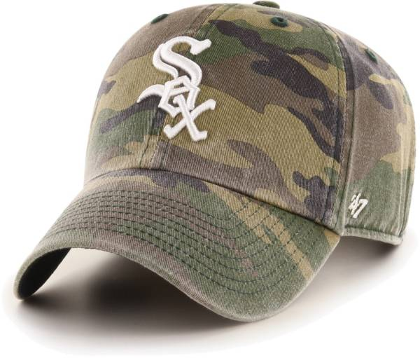 '47 Men's Chicago White Sox Camo Clean Up Adjustable Hat product image
