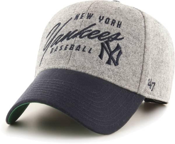 '47 Men's New York Yankees Grey Fenmore MVP Adjustable Hat product image