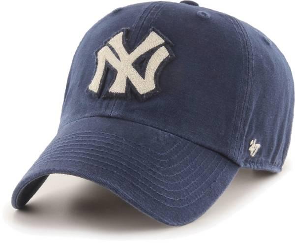 '47 Men's New York Yankees Navy Mclean Clean Up Adjustable Hat product image