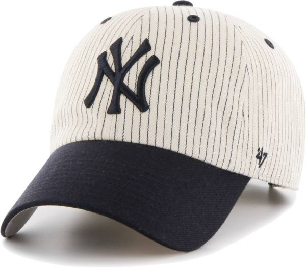 '47 Men's New York Yankees Navy Pinstripe Clean Up Adjustable Hat product image