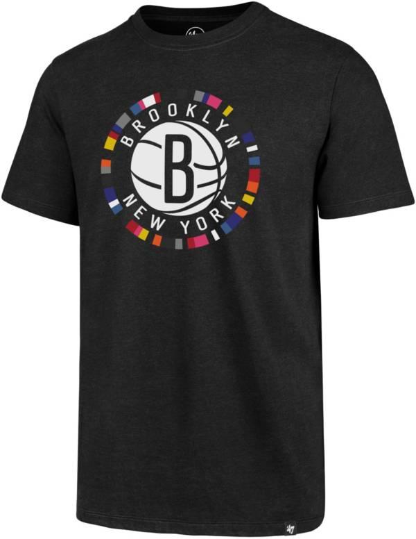 '47 Men's Brooklyn Nets City Edition Short Sleeve T-Shirt product image