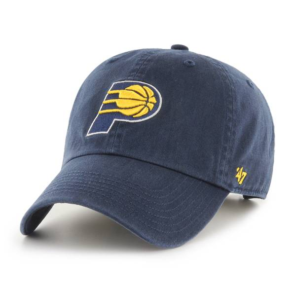 '47 Men's Indiana Pacers Navy Clean Up Adjustable Hat product image