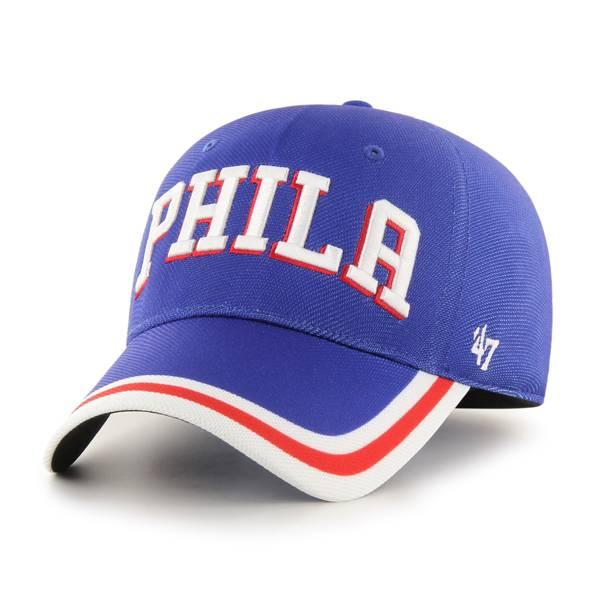 '47 Men's Philadelphia 76ers Blue Contender Adjustable Hat product image