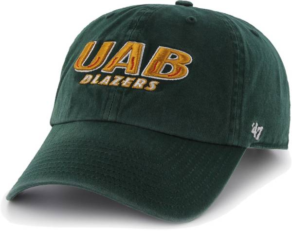 '47 Men's UAB Blazers Green Clean Up Adjustable Hat product image