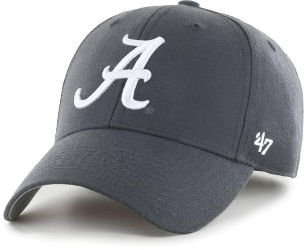 '47 Men's Alabama Crimson Tide Grey MVP Adjustable Hat product image