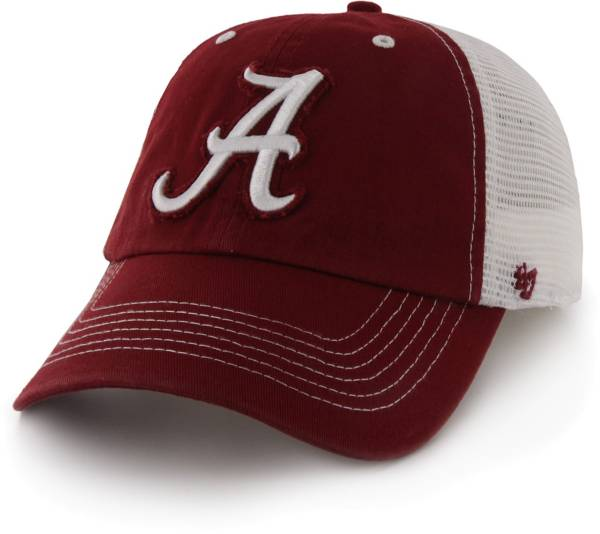 '47 Men's Alabama Crimson Tide Crimson Blue Mountain Closer Fitted Hat product image