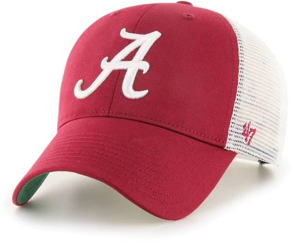 '47 Men's Alabama Crimson Tide Crimson Branson MVP Adjustable Hat product image