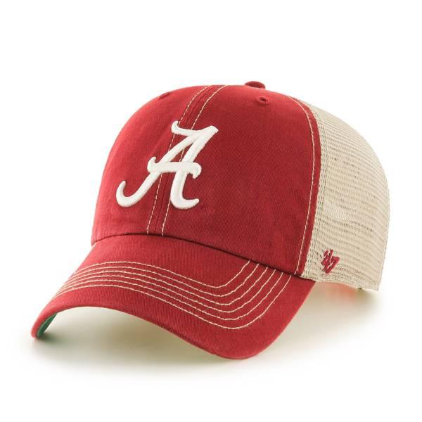 '47 Men's Alabama Crimson Tide Crimson Trawler Clean Up Adjustable Hat product image