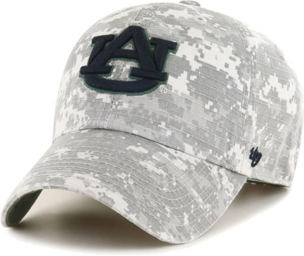 '47 Men's Auburn Camo OHT Clean Up Adjustable Hat product image