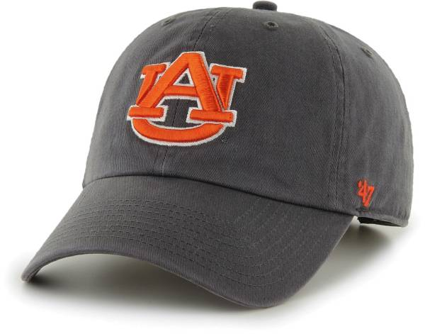 '47 Men's Auburn Tigers Grey Clean Up Adjustable Hat product image