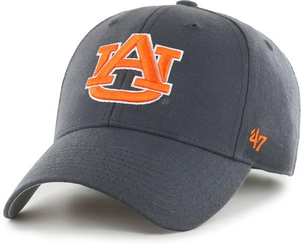'47 Men's Auburn Tigers Grey MVP Adjustable Hat product image