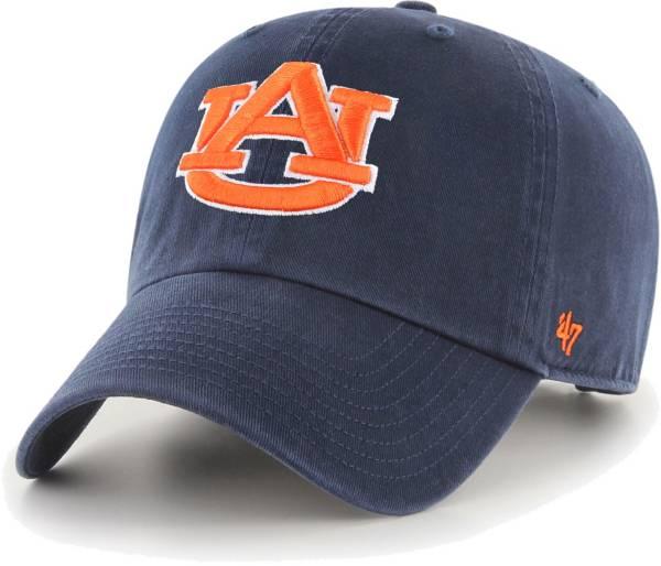 '47 Men's Auburn Tigers Blue OHT Clean Up Adjustable Hat product image