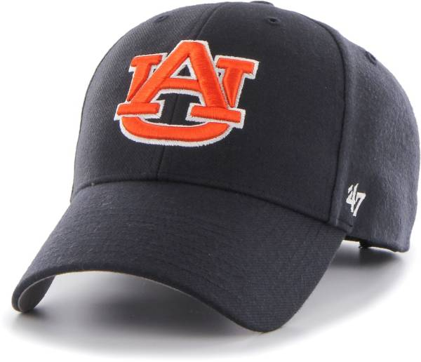 '47 Men's Auburn Tigers Blue MVP Adjustable Hat product image