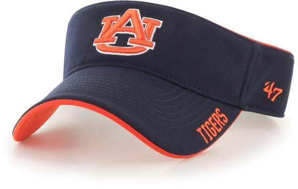 '47 Men's Auburn Tigers Blue Top Rope Adjustable Visor product image