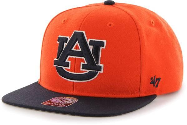 '47 Men's Auburn Tigers Orange Sure Shot Captain Adjustable Hat product image