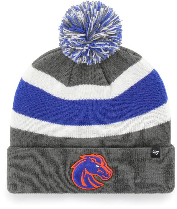 '47 Men's Boise State Broncos Grey Breakaway Cuffed Knit Hat product image