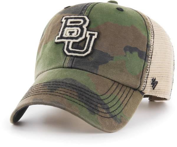 '47 Men's Baylor Bears Camo Burnett Clean Up Adjustable Hat product image
