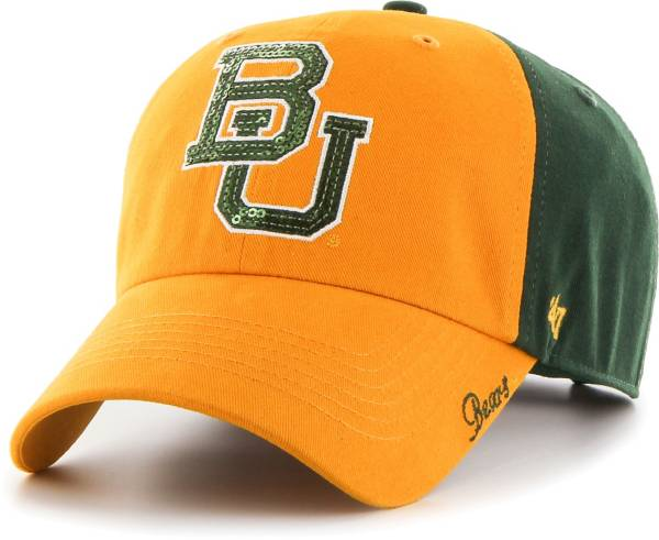 '47 Women's Baylor Bears Brown Sparkle Clean Up Adjustable Hat product image