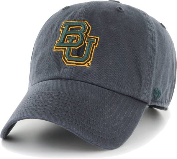 '47 Men's Baylor Bears Grey Clean Up Adjustable Hat product image